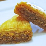 baklava sliced