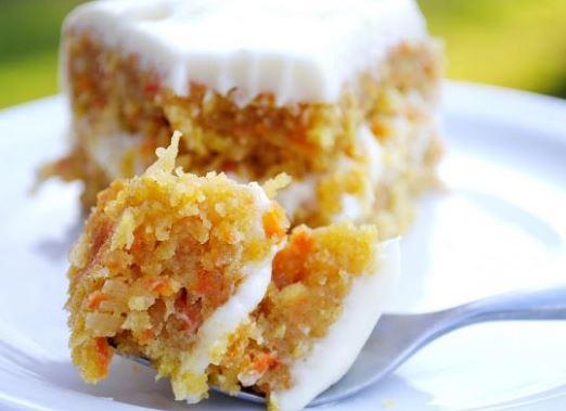 carrot coconut cake