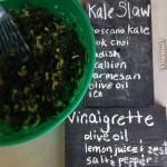 bok choy kale salad