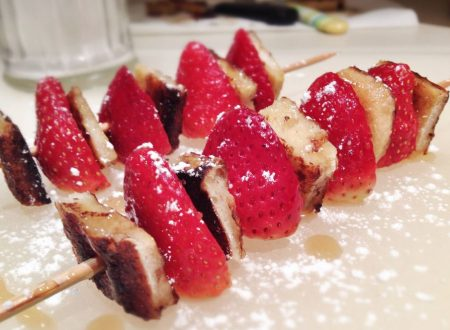 Spiked fragola French toast