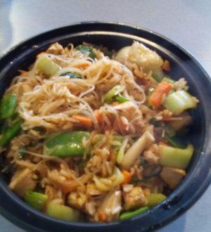 Adorabile cibo Cinese.