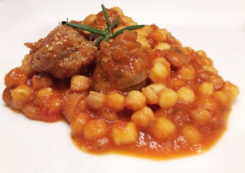 fregola with sausage