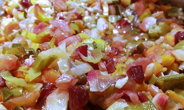 Unadulterated roasted vegetable sauce