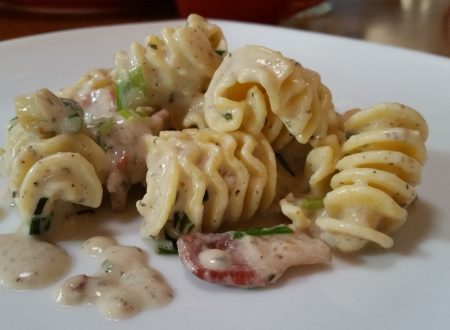 Simple Radiatore Carbonara
