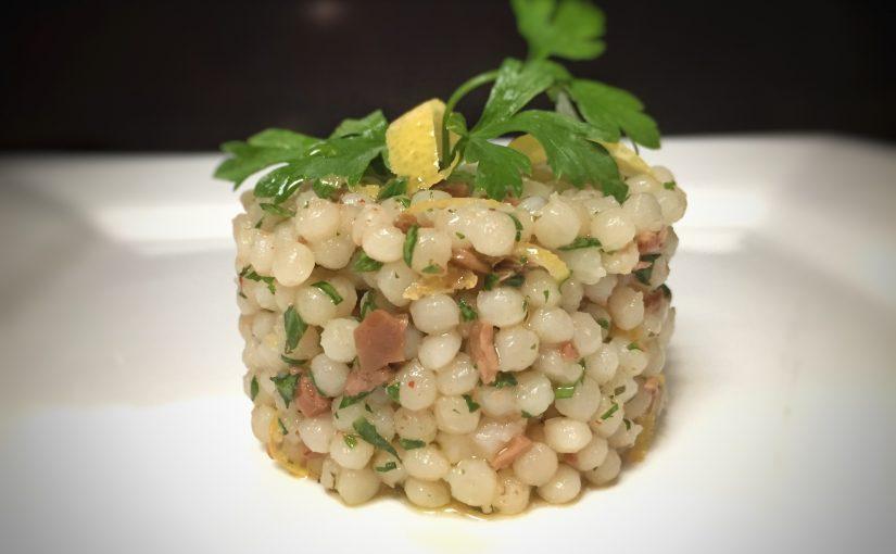 Olive and lemon couscous