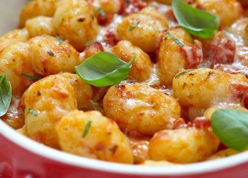 Gnocchi al pomodoro gratinati