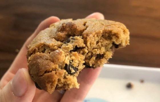 Biscotti senza farina con cioccolato