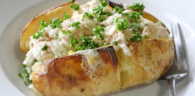 patate al forno con tonno insalata di mais