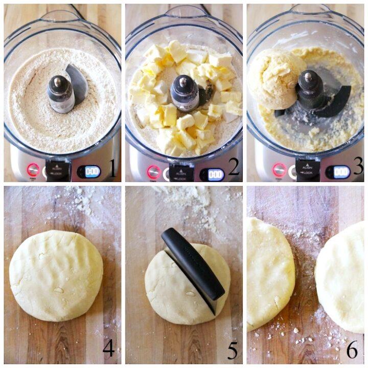 Pasta sfoglia dolce con crema di formaggio
