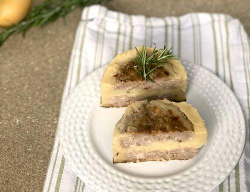Salsiccia e patate gourmet