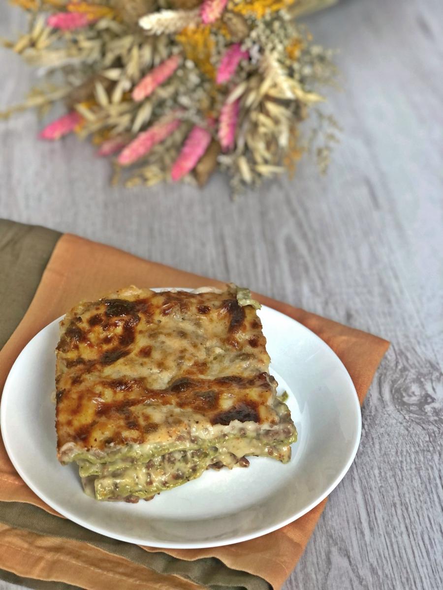 The Bretell Kitchen - Lasagne verdi con ragù bianco