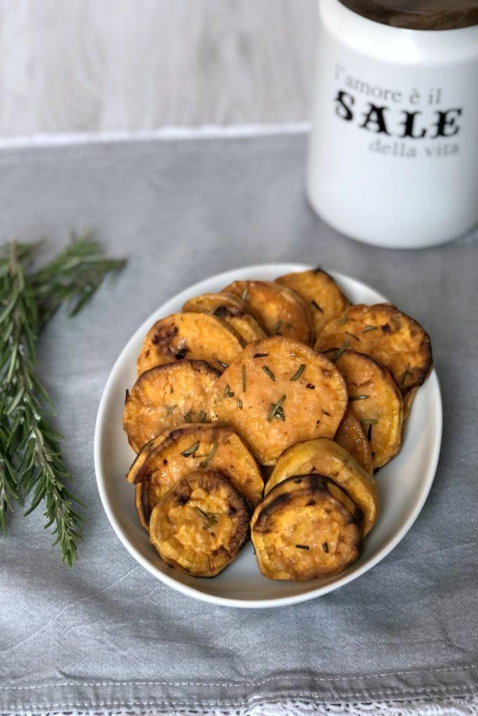 The Bretell Kitchen - Patate dolci al forno