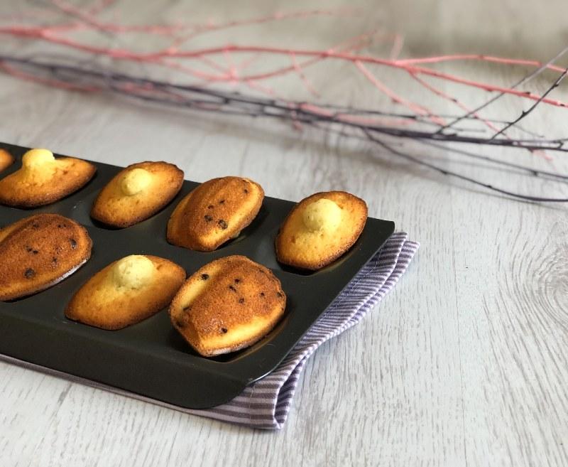 The Bretell Kitchen - Madeleines frangipane e cioccolato