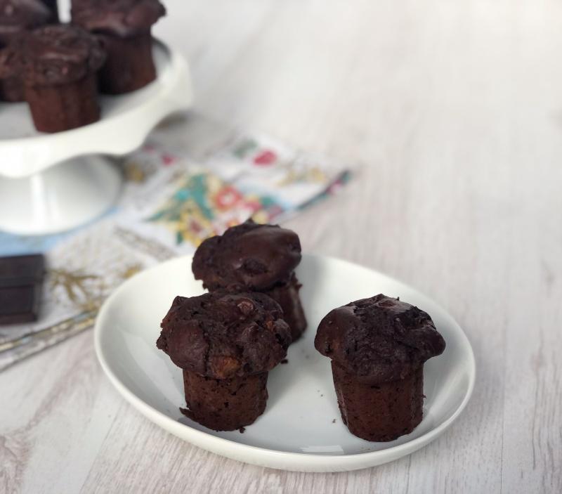 The Bretell Kitchen - Muffin cioccolato e pere