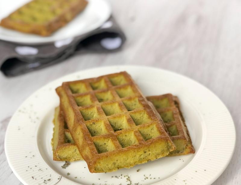 The Bretell Kitchen - Waffle di piselli