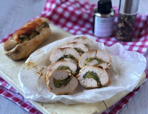 Rotolo di pollo e zucchine