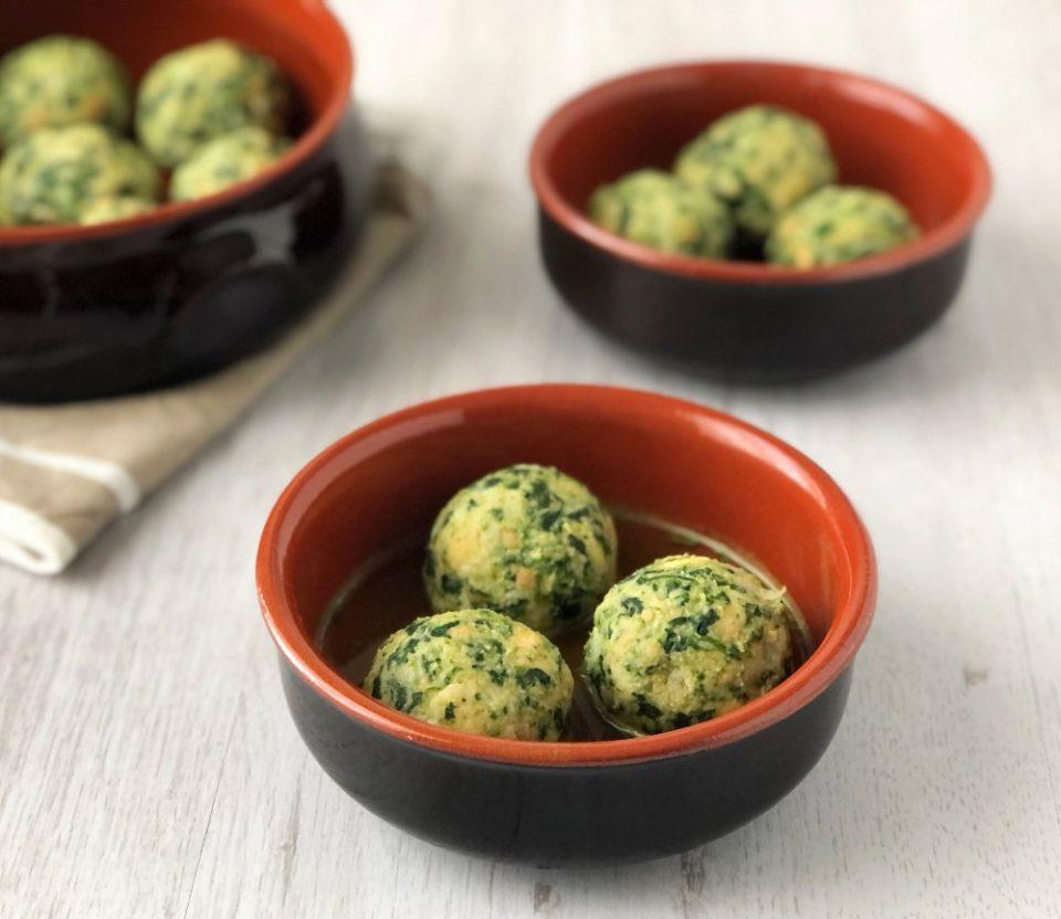 The Bretell Kitchen - Canederli agli spinaci