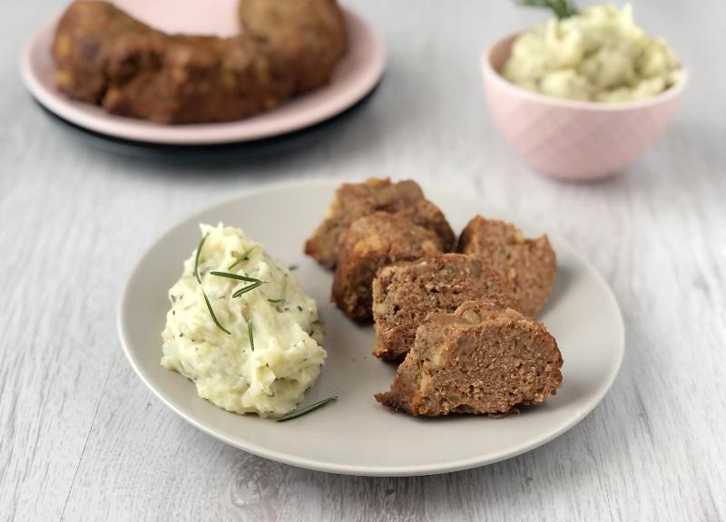 The Bretell Kitchen - Ciambella salata con purè al rosmarino