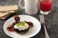 Portobello uovo e pancetta