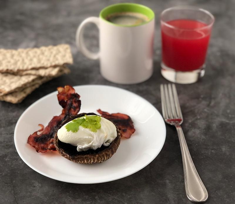 The Bretell Kitchen - Portobello uovo e pancetta