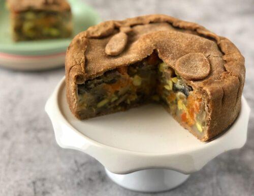 Easter Veg Pie