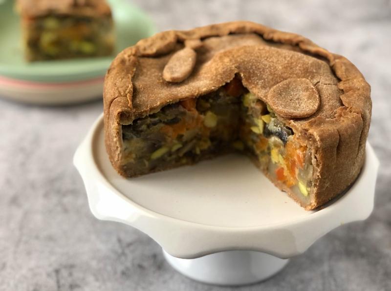 The Bretell Kitchen - Easter Veg Pie