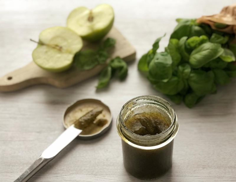 The Bretell Kitchen - Composta di basilico e mele