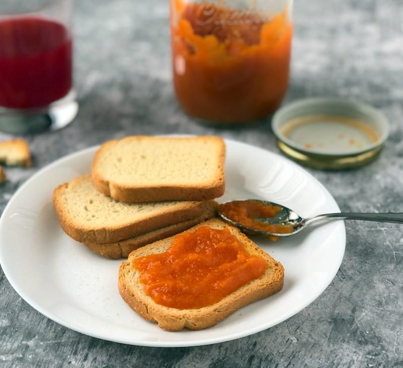 The Bretell Kitchen - Marmellata di carote
