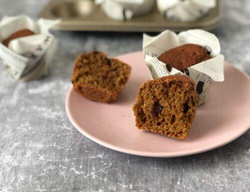 Muffin alla barbabietola