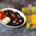 The Bretell Kitchen - Riso venere con pomodori e yogurt di soia
