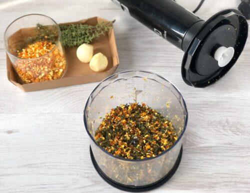 RUB all'arancia essiccata