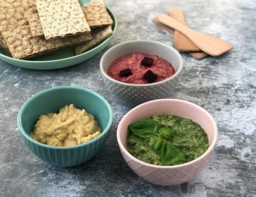 Hummus tricolore