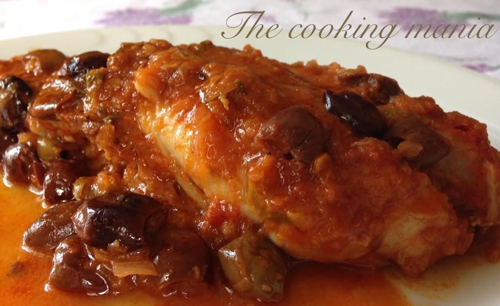 Rana pescatrice in umido the cooking mania for Cucinare rana pescatrice