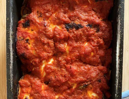 Involtini di Spaghetti alla Parmigiana