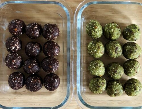 Energy Balls – Gusto Matcha e Cacao