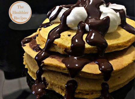 Pancake gluten-free, con farina di zucca!