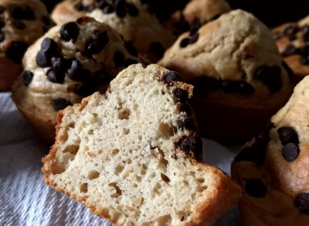 Muffin con albumi e burro d'arachidi
