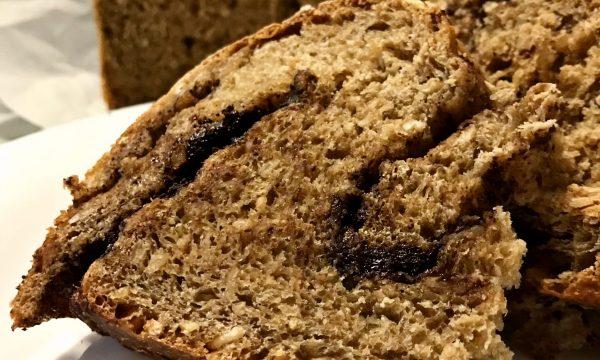 Pane Dolce con fiocchi di avena