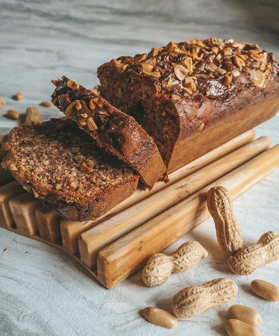 plumcake Nutella e arachidi