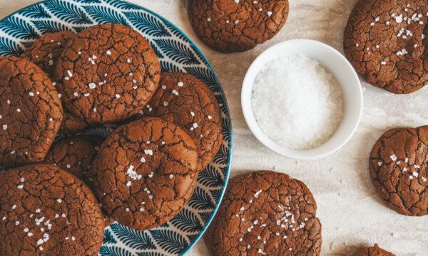 Brownie cookies al cioccolato
