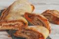 Rotolo salato con prosciutto e scamorza