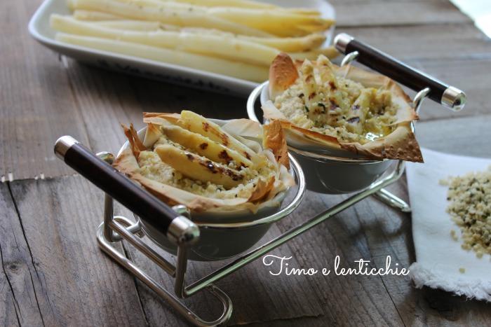 cocotte di asparagi