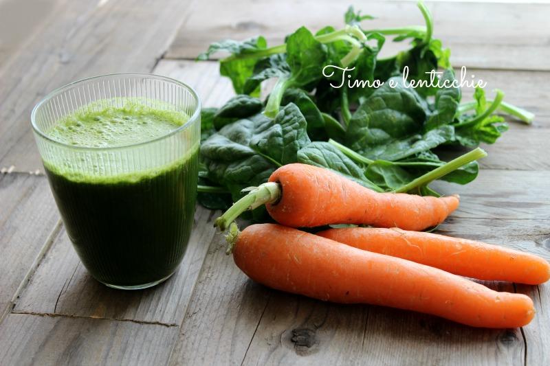 estratto 61 carote e spinaci