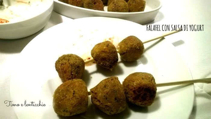 Falafel a crudo o a cotto