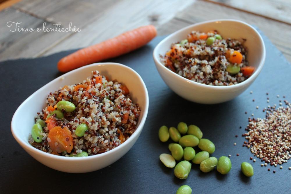 quinoa edamame