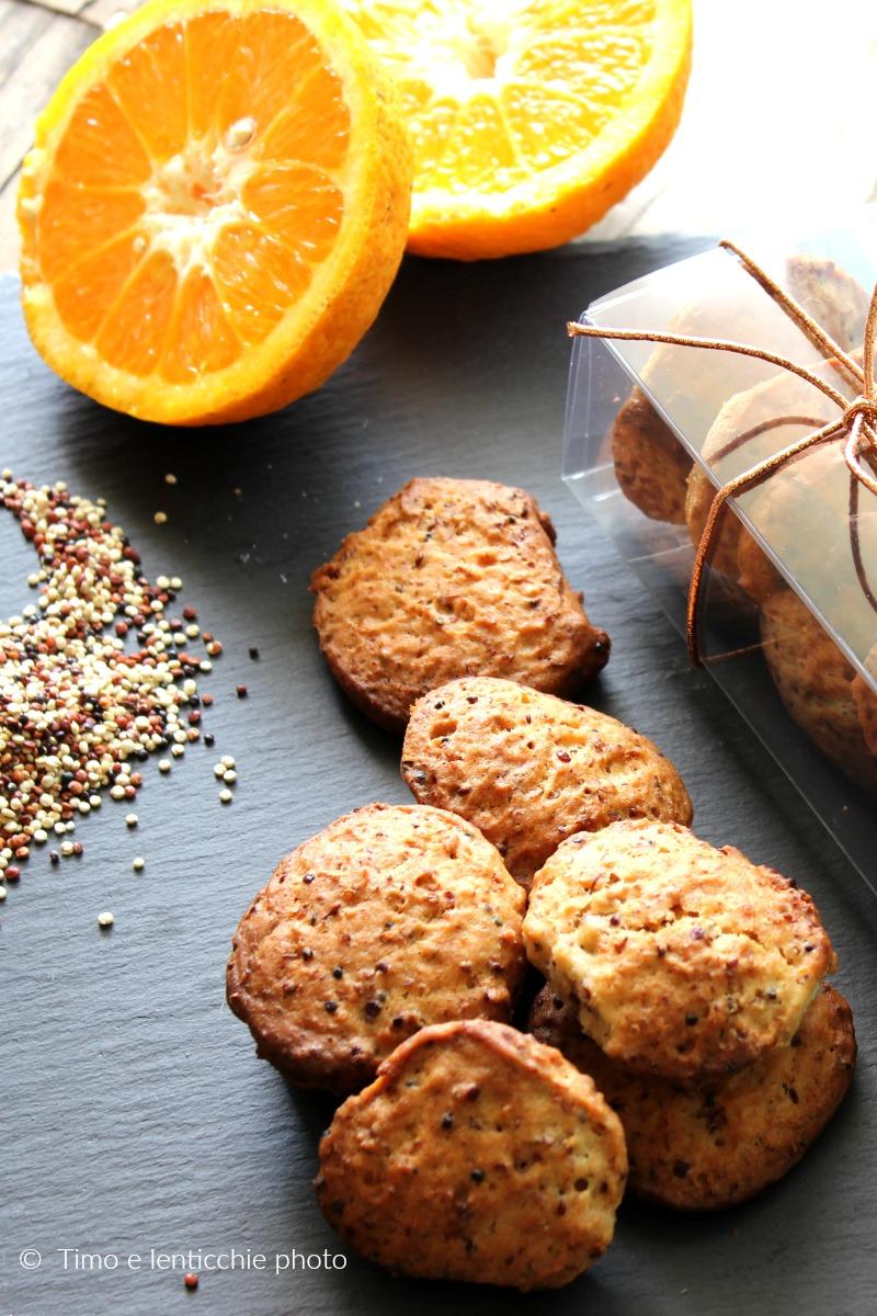 Biscotti di quinoa senza burro poco zucchero