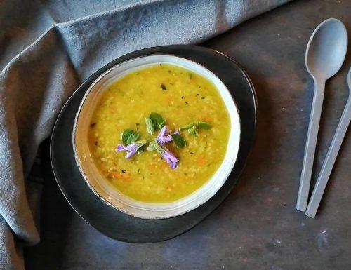 Zuppa di verdure e bulgur