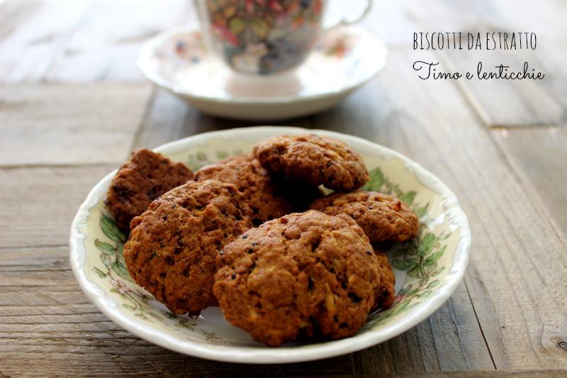 biscotti da estratto