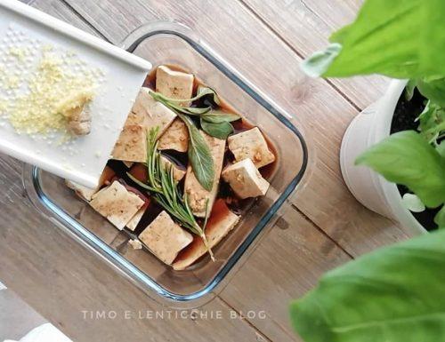 Come preparare il tofu marinato