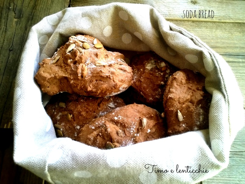 soda bread farro e semi